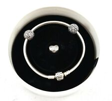 Authentic PANDORA Forever in My Heart Bracelet & Charm Gift Set USB792019