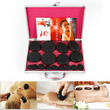 16pcs Natural hot Spa Energy stone Essential Oil Hot Massage Stone + Heater box