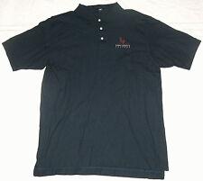 St Mary's College SMC Mens SZ L Devon & Jones Embroidered Navy Blue Polo Shirt