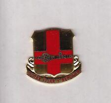 US ARMY 749th Maintenance Battalion crest DUI badge c/b clutchback G-23