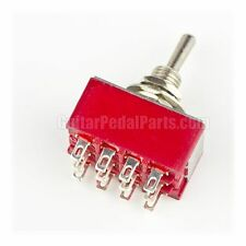 4PDT ON-ON Toggle Switch, Solder Lugs