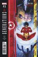 GENERATIONS IRON MAN & IRONHEART #1 RUDY VARIANT MARVEL COMICS