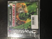 Army Men: Sarge's Heroes 2 PS1 Playstation 1 Brand New Sealed