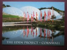 POSTCARD CORNWALL THE EDEN PROJECT - ST AUSTELL