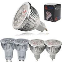10/8/4x GU10(230V) / MR16(DC12V) 6W =environ 50W Ampoules LED Lumière Réflecteur