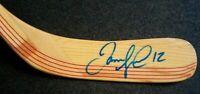 Jarome Iginla SIGNED FULL SIZE HOCKEY STICK BLADE NHL HOLO COA STICKER ONLY!
