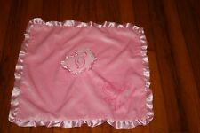 Disney Baby Princess Cinderella Plush Carriage Security Blanket Lovey Satin