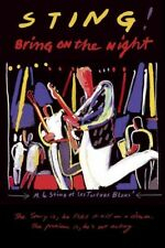 STING 'BRING ON THE NIGHT ' DVD NEW+!!!!!!