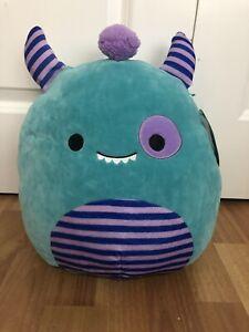 "NEW 12"" Squishmallow Morty Monster Plush RARE"