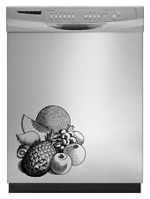 Fruits Detailed Kitchen Decal Sticker Refrigerator Dorm Fridge Retro Freezer