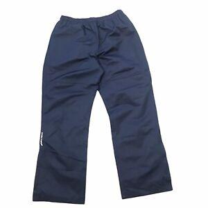 Bauer Men's Medium Navy Blue Lightweight Warm up Pants Hockey NWT