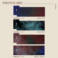 DAY6 - 3RD ALBUM THE BOOK OF US : ENTROPY PHOTO CARD YOUNG K WONPIL SUNGJIN JAE