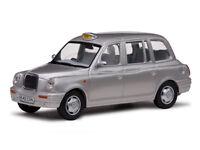 TX1 London Taxi Cab 1998 Platinum Silver 1:43 Model 10203 VITESSE