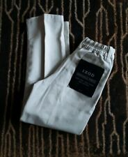 Nwt Boys Sz 7X Izod Beige Wrinkle Free Semi Elastic Waist Pants Uniform Slacks