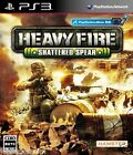 Used PS3 Heavy Fire: Shattered Spear PLAYSTATION 3 SONY JAPAN JAPANESE IMPORT