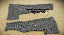 Chainmail Sleeve and Shoulder Panels - 9 mm Butted High Tensile Wire Rings