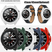 For Samsung Galaxy Watch3 41mm 45mm Watch Protector Case Cover Bumper Shell Skin