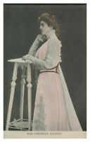 Antique printed postcard Miss Gertrude Elliott actress theatre stage