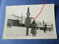 Kirkenes Narvik Norwegen Norge Schilder signs Schilderwald Wegweiser 1940  6x9 c