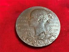 GREAT BRITIAN 1837-1897 QUEEN VICTORIA DIAMOND JUBILEE HIGH RELIEF BRONZE MEDAL