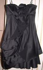 KAREN MILLEN BLACK PARTY DRESS SIZE 10 EXCELLENT CONDITION
