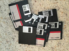 Lot of 10 3.5 inch Formatted Used Floppy Disks - 1.44 MB each - Random Brands