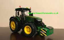 WIKING 1/32 SCALE JOHN DEERE 7310R MODEL TRACTOR WITH SUMO FRONT WEIGHT BLOCK