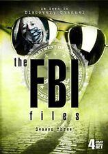 FBI Files Season 3 1999 2000 4 PC DVD