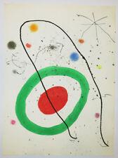 """Joan MIRO """"Miroir de l'Homme par les bêtes, Planche 3"""" 1972, Lithographie"""