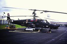 """4/439-2  Kamov Ka-50 """"Black Shark"""" Russian Air Force Kodachrome SLIDE"""