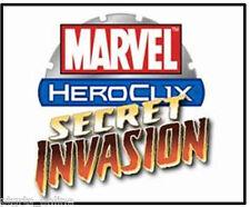 Heroclix Secret Invasion Collection Booster #5 (99) Assorted Figures Excellent