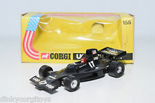 CORGI TOYS 155 SHADOW FORD UOP F1 RACING CAR MINT BOXED RARE SELTEN