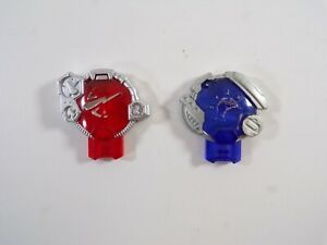 Transformers Cybertron 2 Cyber Planet Key Lot: Red and Blue Figure Accessories