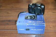 Canon PowerShot SX150 IS 14.1MP Digital Camera - Black