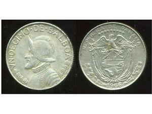 PANAMA   1/10  de balboa 1966