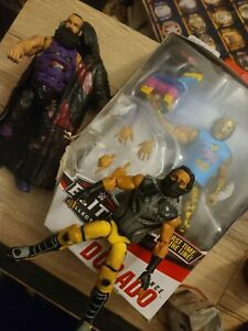 WWE AEW LINCE DORADO Chase LUKE CUSTOM Harper Brody ELITE MUFASA ALI RARE LOT