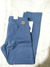 Carhartt Club Pant W32 L32 Stone Blue Stone Washed