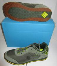 Nib Mens Columbia Pipestone Green Mesh Suede Casual Hiking Shoes 13