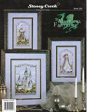 Mythical Fantasies Cross Stitch Book - Stoney Creek #292 - Dragon, Unicorn