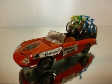 MEBETOYS A-65 A65 ALFA ROMEO DUETTO GIRO D'ITALIA BIANCHI - ORANGE 1:43 - GOOD