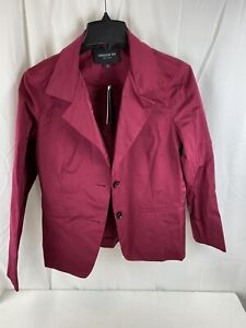 Lafayette 148 Women's Hibiscus size 10 Two Button Jacket