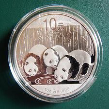 2013 China Panda 1 oz 999 Silver coin in plastic air-tite