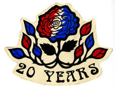 GRATEFUL DEAD 20th Anniversary 5 x 6 Souvenir Sticker 1985 RARE! JERRY GARCIA