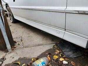 1998 1999 2000 2001  BMW E38 740iL RIGHT PASSENGER SIDE SKIRT ROCKER PANEL WHITE