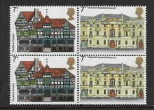 1975 GB. - EUROPEAN ARCHITECTURAL HERITAGE YEAR - BLOCK OF FOUR - MNH.