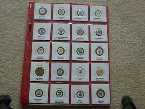 Golf Ball Marker Collection, Scottish Golf Courses, 240 Markers