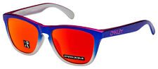 Oakley Frogskins Asia Sunglasses OO9245-8254 Pink Blue Fade   Prizm Ruby Lens