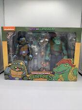 New ListingNeca Teenage Mutant Ninja Turtles Slash & Leatherhead 2 Pack Target Exclusive