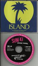 SUM 41 Walking Disaster w/ RARE EDIT PROMO DJ CD single