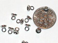 10pc Metal Hoop Hook bails Charms pendants findings craft beads New